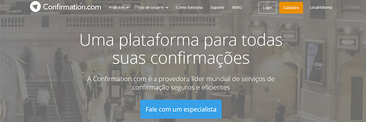 Confirmation.com now offers website and application in Portuguese